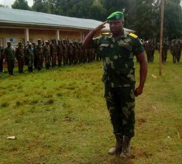 FARDC: le colonel Katembo, nouveau commandant opérationnel à Fizi