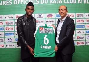 Transfert : Fabrice Ngoma s'envole pour Raja de Casablanca