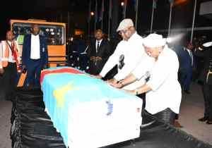 """Obsèques E. Tshisekedi : """"Je garde de lui les valeurs de la résistance"""" (Guy Mafuta)"""