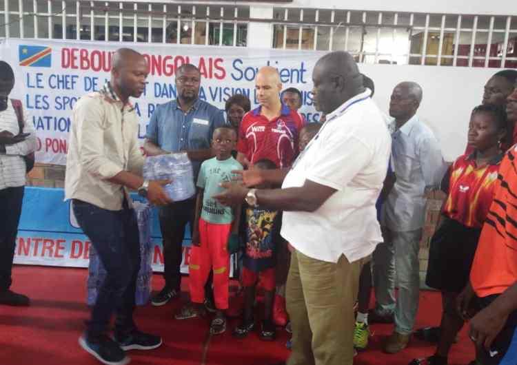 """Tennis de Table : la structure """"Debout Congolais"""" soutient les léopards pongistes"""