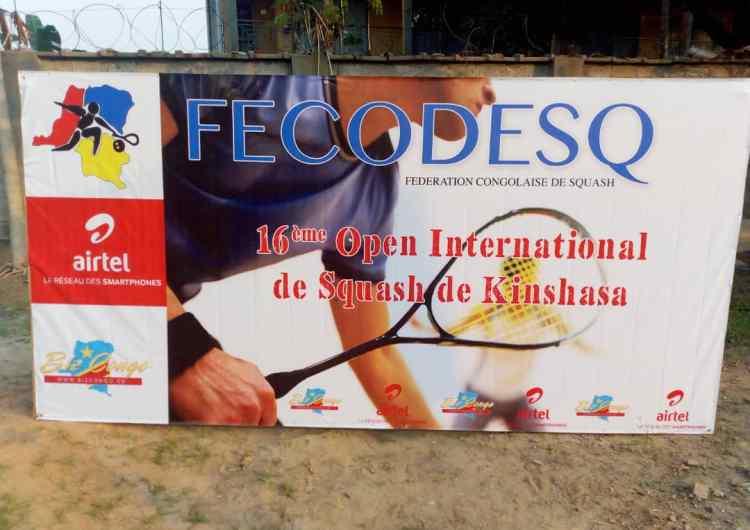 Squash 16e Open international : Jean-Marie Besombi/Kazadi Mutombo, le duel de la finale de ce samedi
