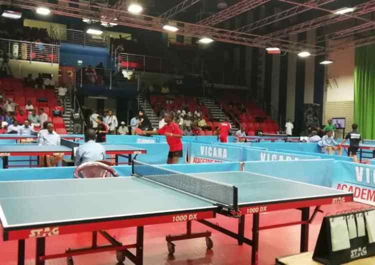 Challenge African Hopes et Cadets de Tennis de Table : organisation in, résultats out