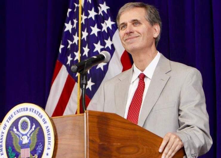 Le Sous secrétaire d'État américain, Scott Busby en visite officielle en RDC