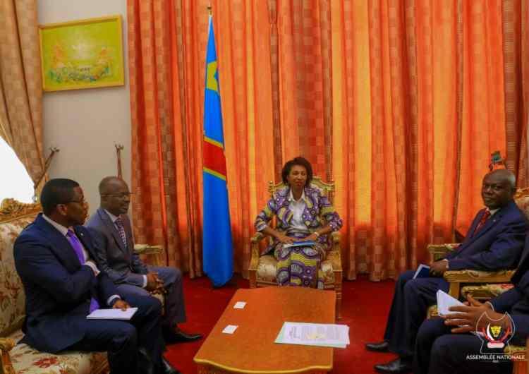 """RDC/USA: """"droits de l'homme et corruption"""" au cœur des échanges entre Scott Busby et Jeanine Mabunda à Kinshasa"""
