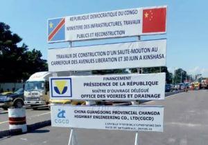 Annoncé mardi, F. Tshisekedi inspecte les chantiers des sauts-de-moutons ce mercredi