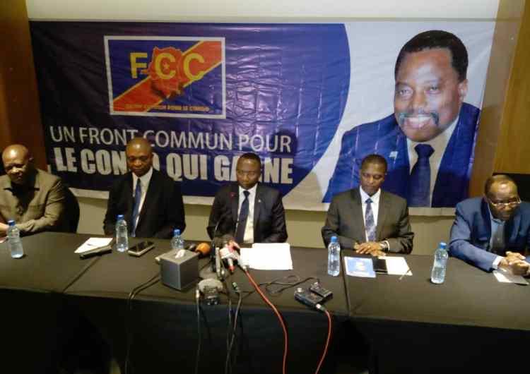 """""""Les personnalités ministrables issus du FCC ont tous été acceptée par le président de la République"""" ( Néhémie Mwilanya )"""