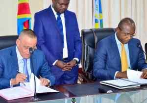 Kin Bopeto: l'Hôtel de ville de Kinshasa et la FEC signent un protocole d'accord