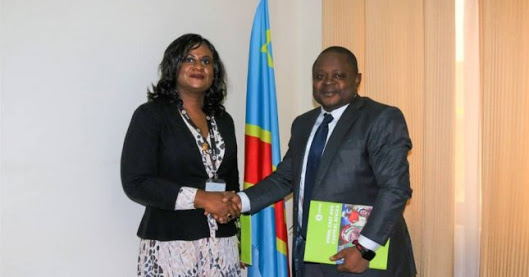 Droits de l'homme en RDC : André Lite rassure Corinne N'daw d'Oxfam