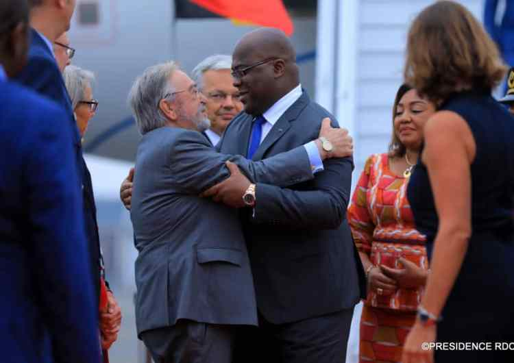 RDC/Belgique: F. Tshisekedi accueilli avec faste à Bruxelles
