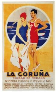 La Coruña. Ciudad de Verano, 1927 (Autor: Rafael Barros. Arquivo Municipal de A Coruña)