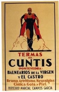 Balnearios de Cuntis, 1930 (Autor: Federico Ribas)