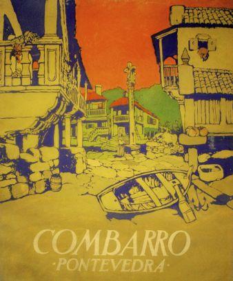Cartel de Combarro en la Exposición Ibero-Americana de Sevilla, 1929. (Autor: Federico Ribas. Museo Provincial de Pontevedra)