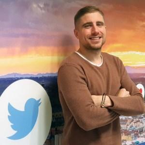 Pedro Ricote, manager de creadores y entretenimiento en Twitter.