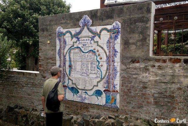 Museu do Azulejo em Colonia del Sacramento, Uruguai.