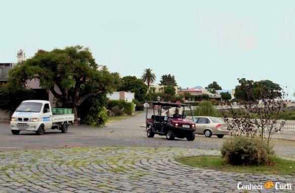Carrinhos em Colonia del Sacramento, Uruguai