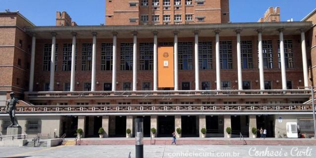 Edifício sede da Intendência de Montevidéu - Palácio Municipal