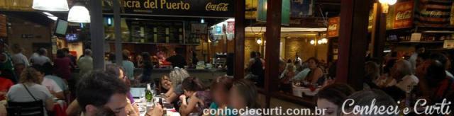 Restaurantes do Mercado del Puerto.