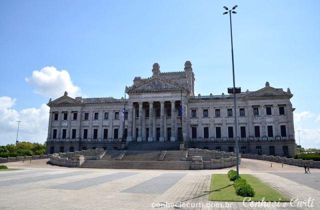 Montevidéu Palácio Legislativo, fachada principal