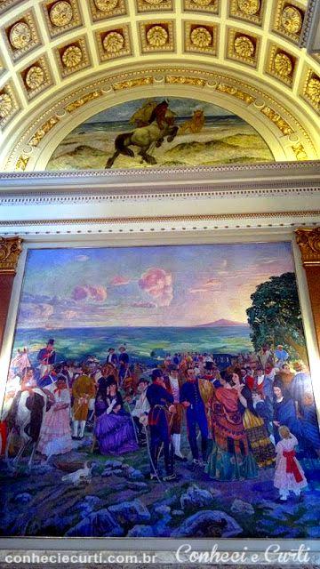 Óleo de Manuel Rosé em Palácio Legislativo