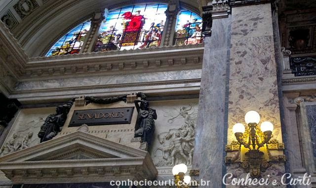 Palácio Legislativo de Montevideo - A entrada do Senado