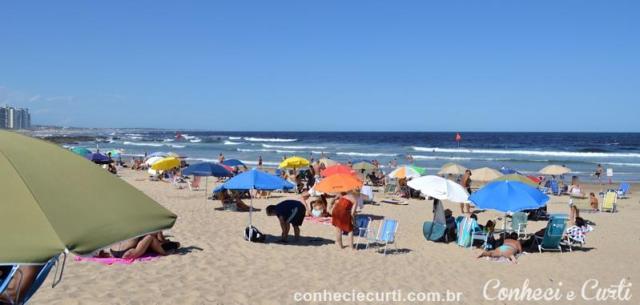 Praia Brava em Punta del Este.