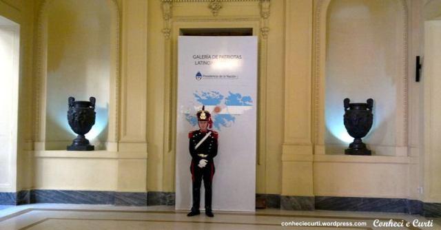 Casa Rosada - Galería de los Patriotas Latinoamericanos del Bicentenario