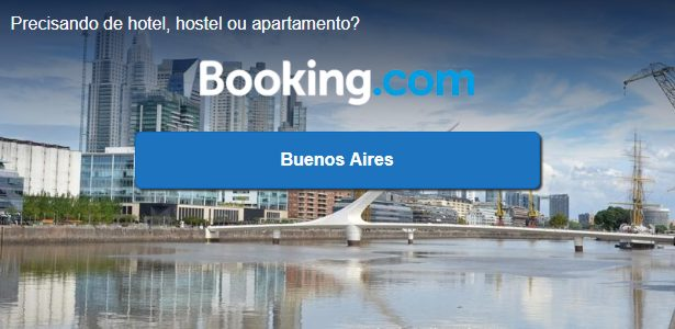 booking - reserva hospedagem