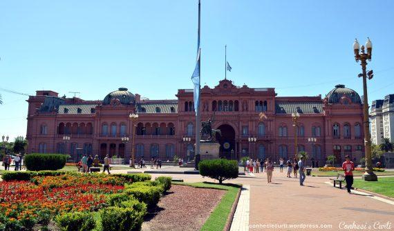 Visita guiada ao interior da Casa Rosada
