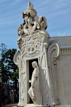 Cemitério Recoleta, jazigo de Rufina Cambaceres