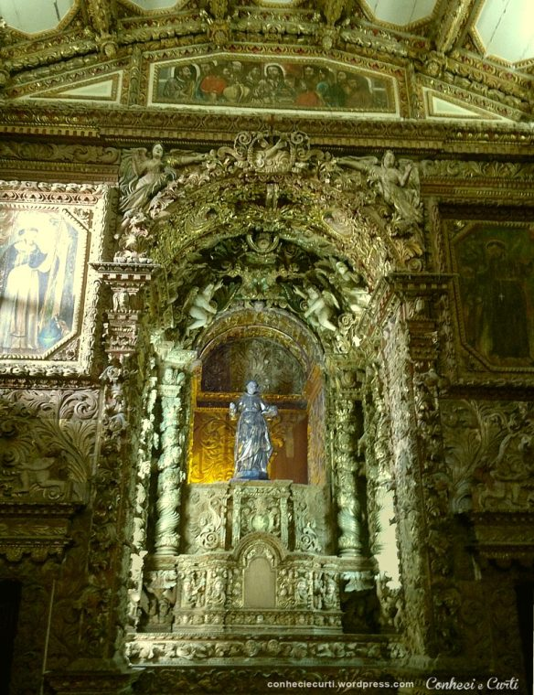 Altar de São Francisco na Capela Dourada - João Pessoa, PB