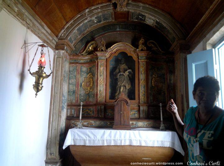 Capela de São Benedito na Igraja de São Francisco em João Pessoa.