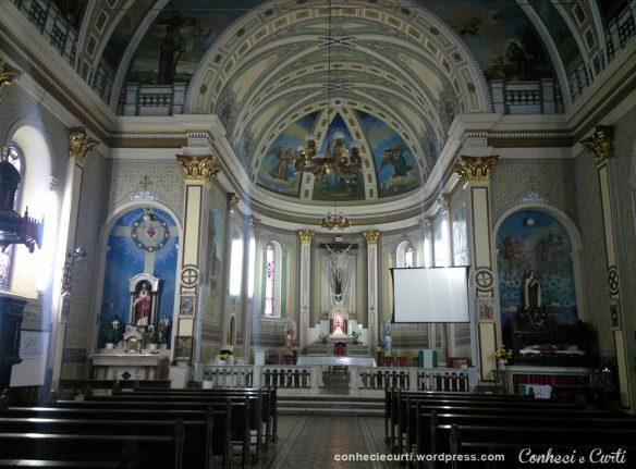 Igreja da Paróquia Nossa Senhora da Conceição Aparecida - Tomazina, PR