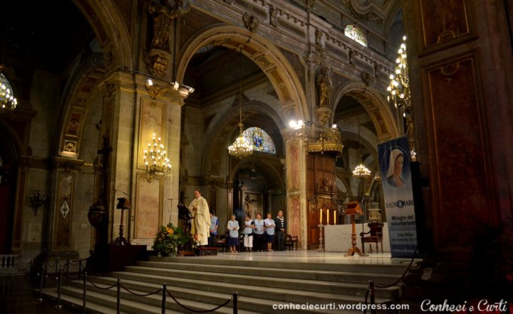 Missa na Catedral de Santiago - Chile