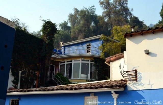 La Chascona, casa-museu de Pablo Neruda, Santiago - Chile.