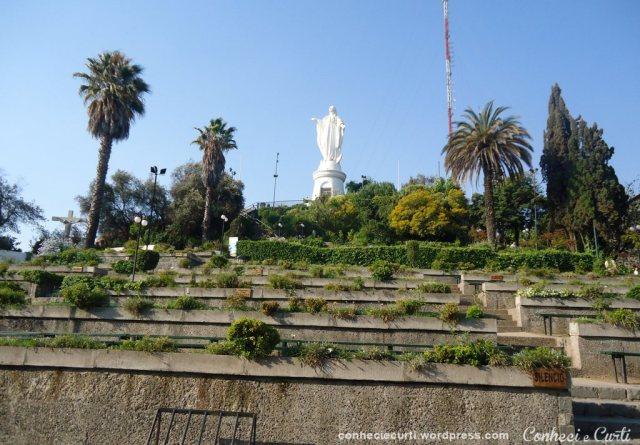 Santuario de la Inmaculada Concepcion - Cerro San Cristóbal. Santiago - Chile
