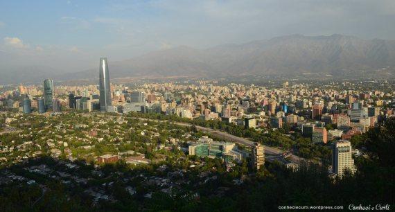 Cinco dias em Santiago do Chile, nosso roteiro