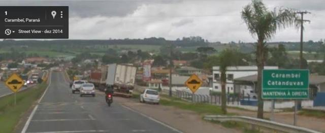Carambei-placa-estrada