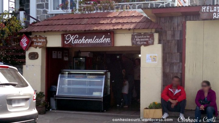 Confeitaria Kuchenladen em Frutillar