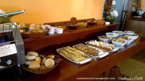 Buffet do café da manhã do Hotel Don Luis - Puerto Mont