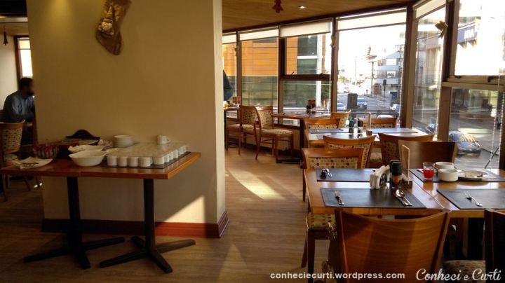 Restaurante do Hotel Don Luis em Puerto Montt, sul do Chile