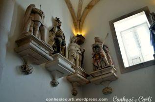 Mosteiro de Alcobaça, Sala dos Reis.