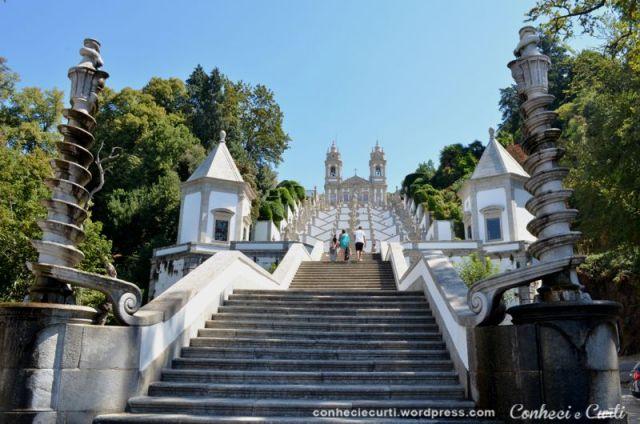 Santuário do Bom Jesus do Monte, Braga, Portugal.