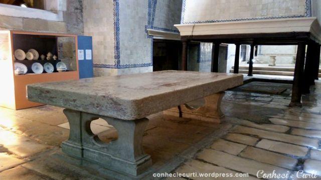 A cozinha do Mosteiro de Alcobaça.