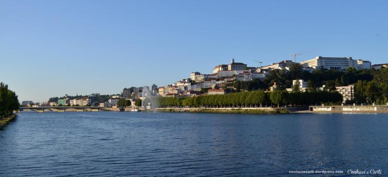 Rio Mondego em Coimbra, Portugal.