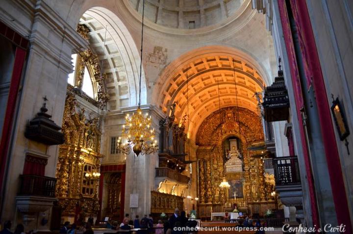 Interior da Sé Nova de Coimbra.
