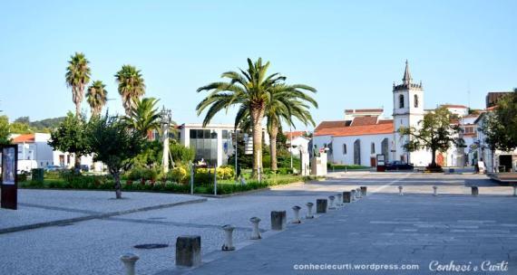 A Vila da Batalha, Portugal.