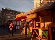 Barraca Medieval Bremen na feira de Natal