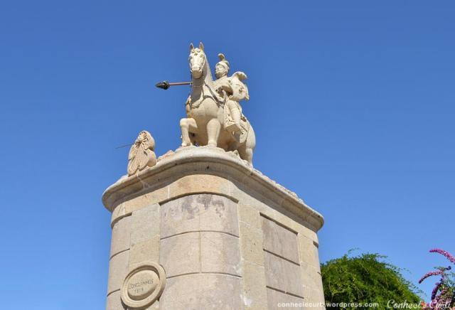 Estátua de São Longuinho - Santuário do Bom Jesus do Monte.