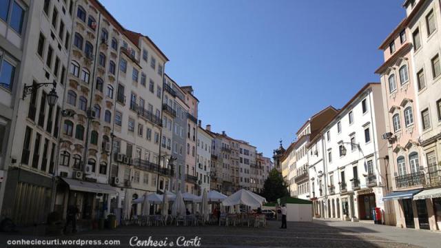 A Praça do Comércio, Coimbra - Portugal.