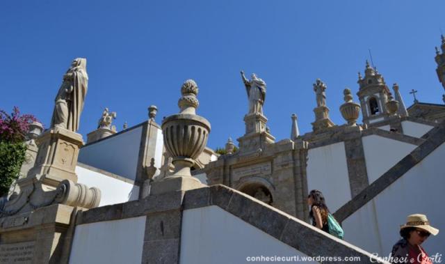 Santuário do Bom Jesus do Monte, Braga - Portugal.